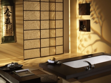 Ванная в восточном стиле: основные особенности оформления