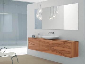 Метаморфозы ванных комнат, создаваемые при помощи зеркал