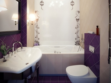 Маленькая ванная комната может быть комфортной – как этого добиться?