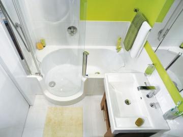 Дизайн ванных комнат в хрущевках (Часть 3)