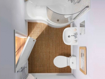 Дизайн ванных комнат в хрущевках (Часть 1)